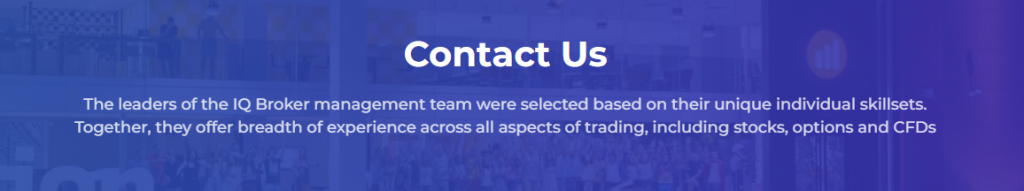 IqBroker - contacts & support