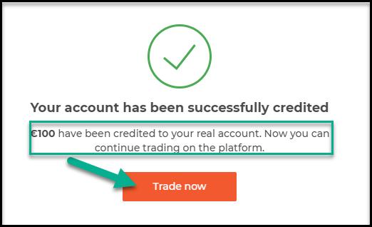 Start trading on IqBroker after success deposit