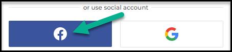 IqBroker - Facebook registration
